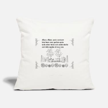 Mary, Mary Quite Contrary - Pillowcase 17,3'' x 17,3'' (45 x 45 cm)