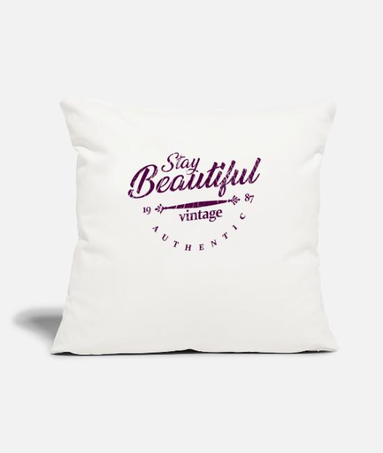 Heart Pillow Cases - beauty - Pillowcase 17,3'' x 17,3'' (45 x 45 cm) natural white