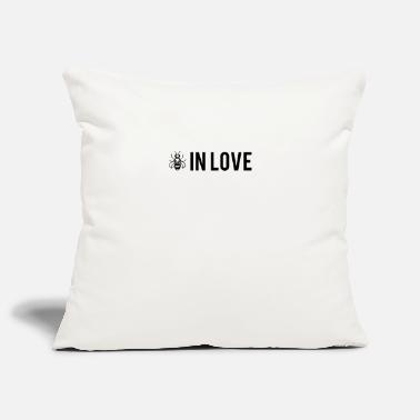 Bee in love - Be in love - Housse de coussin