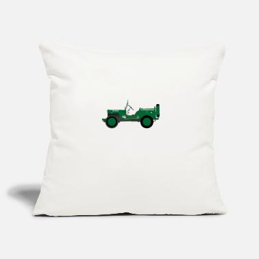 Vehicle Army vehicle - Pillowcase 17,3'' x 17,3'' (45 x 45 cm)