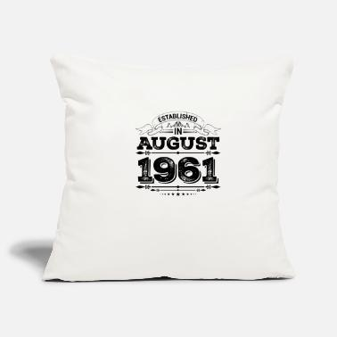 Established in August 1961 - Pillowcase 17,3'' x 17,3'' (45 x 45 cm)