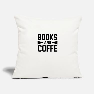 Funny BOOKS AND COFFE 2 01 - Pillowcase 17,3'' x 17,3'' (45 x 45 cm)