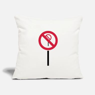 Sign Prohibitions prohibited - Pillowcase 17,3'' x 17,3'' (45 x 45 cm)