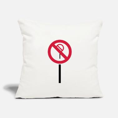 Prohibited Sign Prohibitions prohibited - Pillowcase 17,3'' x 17,3'' (45 x 45 cm)