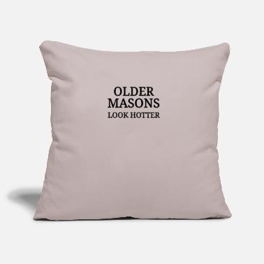 Mason Masons Mason old mason - Pillowcase 17,3'' x 17,3'' (45 x 45 cm)
