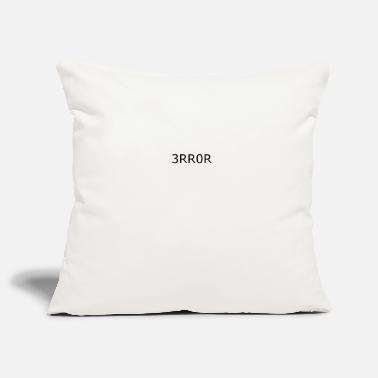 Error Error error crash - Pillowcase 17,3'' x 17,3'' (45 x 45 cm)