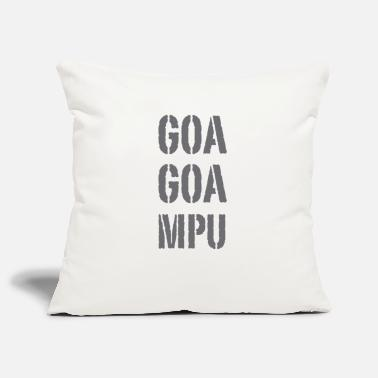 Goa Goa Goa MPU - Pillowcase 17,3'' x 17,3'' (45 x 45 cm)