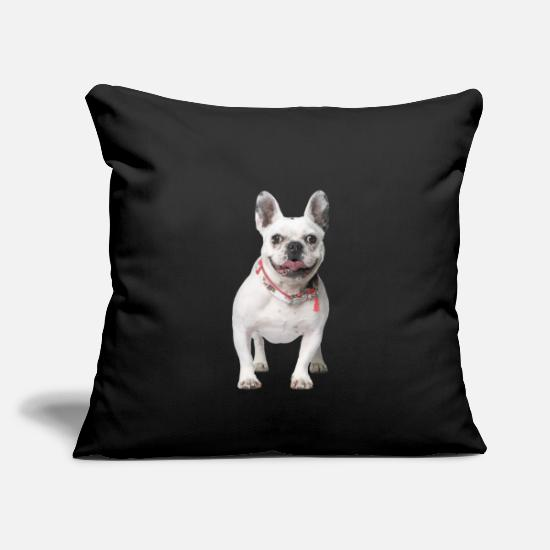 Cute Dog Pillow Cases - Dog - Pillowcase 17,3'' x 17,3'' (45 x 45 cm) black