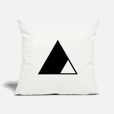 Triangle Triangle in the triangle - Pillowcase 17,3'' x 17,3'' (45 x 45 cm)