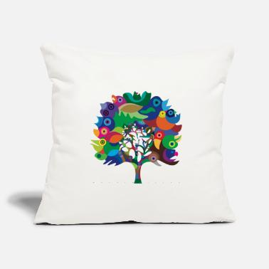 Collection For Kids Overbirded Tree - Pillowcase 17,3'' x 17,3'' (45 x 45 cm)