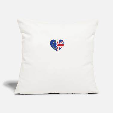Brexit Brexit Heart - Pillowcase 17,3'' x 17,3'' (45 x 45 cm)