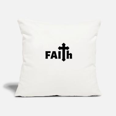 Jerusalem FAITH Jesus Church Religion Gift Christianity - Pillowcase 17,3'' x 17,3'' (45 x 45 cm)