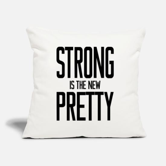 Pretty Pillow Cases - PRETTY SHIRT - Pillowcase 17,3'' x 17,3'' (45 x 45 cm) natural white