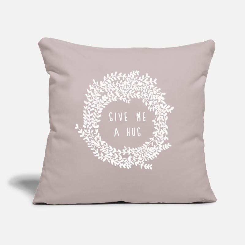 Bestsellers Q4 2018 Pillow cases - Hug - Pillow Case light grey