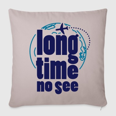 Long time no see - Sofa pillow cover 44 x 44 cm