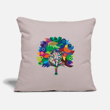 Collection For Kids Overbirded Tree - Sofa pillow cover 44 x 44 cm