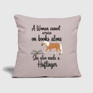 Woman-Books- Haflinger MP - Sofakissenbezug 44 x 44 cm