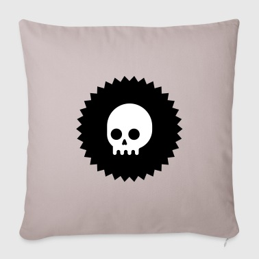 Skull emblem - Sofa pillow cover 44 x 44 cm