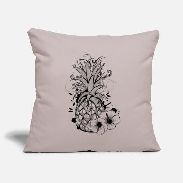 Collections Pineapple with hibiscus blossom - Putetrekk