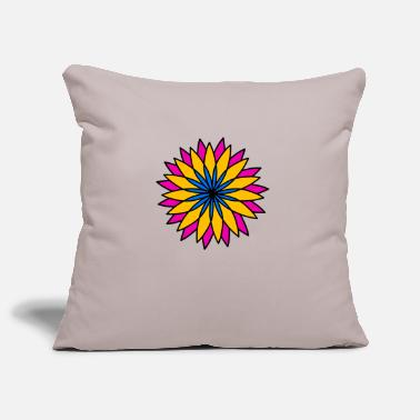 CRAZY FLOWER - Sofa pillow cover 44 x 44 cm