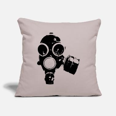 Gas gas-mask - Pillowcase 17,3'' x 17,3'' (45 x 45 cm)