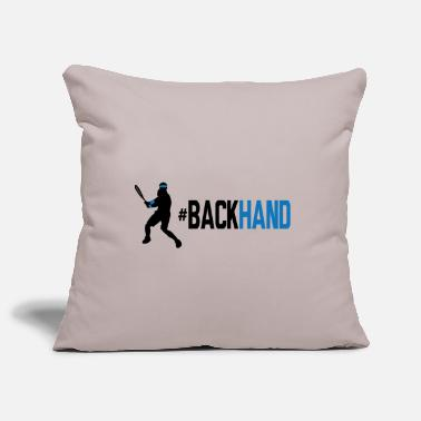 Backhand backhand 01 - Pillowcase 17,3'' x 17,3'' (45 x 45 cm)