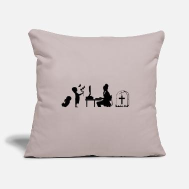 Childbirth Childbirth work dying - Pillowcase 17,3'' x 17,3'' (45 x 45 cm)