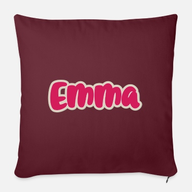 First Name Emma name first name - Pillowcase 17,3'' x 17,3'' (45 x 45 cm)