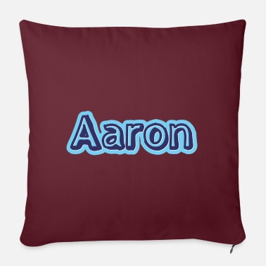 First Name Aaron name first name - Pillowcase 17,3'' x 17,3'' (45 x 45 cm)