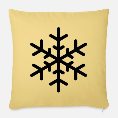 Flake flake - Pillowcase 17,3'' x 17,3'' (45 x 45 cm)