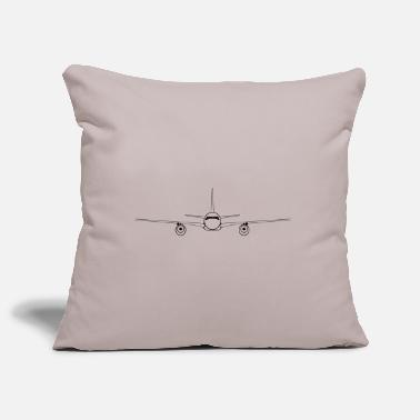 Airplane airplane - Pillowcase 17,3'' x 17,3'' (45 x 45 cm)