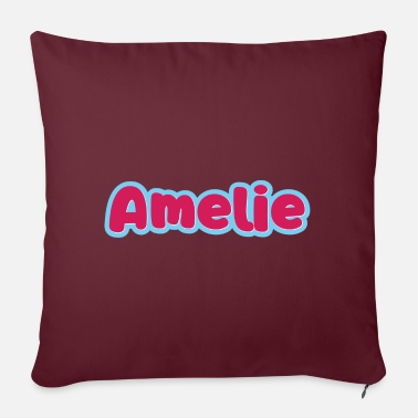 First Name Amelie name first name - Pillowcase 17,3'' x 17,3'' (45 x 45 cm)