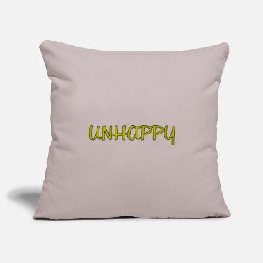 Unhappy Unhappy - Pillowcase 17,3'' x 17,3'' (45 x 45 cm)