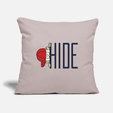 Hide Hide Game - Pillowcase 17,3'' x 17,3'' (45 x 45 cm)