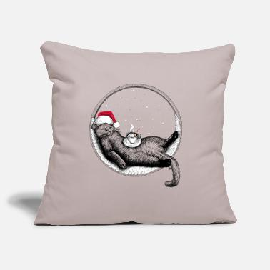Christmas Cat - Sofa pillow cover 44 x 44 cm