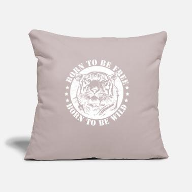 Date Of Birth Birth dates and to be wild! - Pillowcase 17,3'' x 17,3'' (45 x 45 cm)