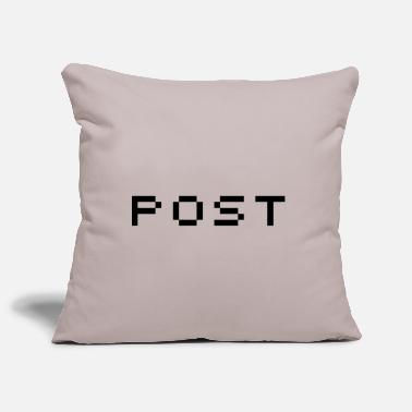 Post post - Pillowcase 17,3'' x 17,3'' (45 x 45 cm)