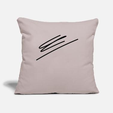 Line Drawing Line drawing - Pillowcase 17,3'' x 17,3'' (45 x 45 cm)