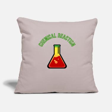 Reaction Chemical Reaction, Chemical Reaction - Pillowcase 17,3'' x 17,3'' (45 x 45 cm)