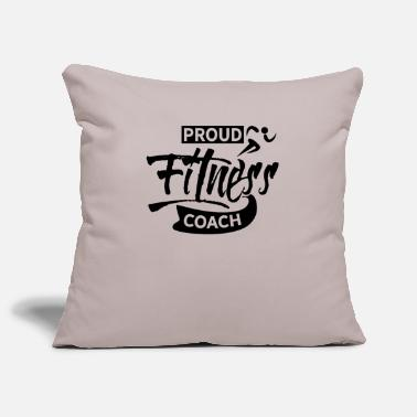 Sports fitness trainer - Pillowcase 17,3'' x 17,3'' (45 x 45 cm)