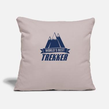 Trekking trekking - Pillowcase 17,3'' x 17,3'' (45 x 45 cm)
