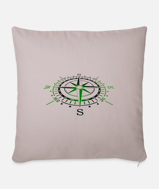 Skipper Pillow Cases - Sailing | Gift sailor | Gift sailing funny - Pillowcase 17,3'' x 17,3'' (45 x 45 cm) light taupe