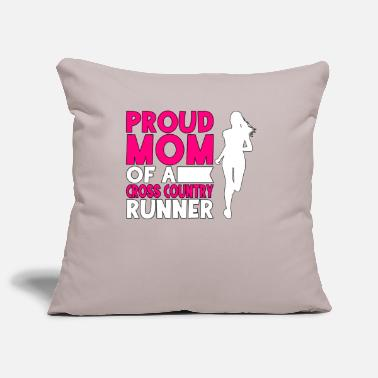 Interessante Cross Country Runner Proud Mom of a Cross Country - Copricuscino