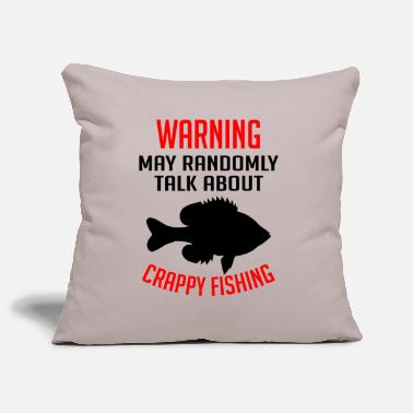Angel Warning sometimes talks about fishing gift - Pillowcase 17,3'' x 17,3'' (45 x 45 cm)