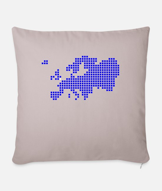 Great Britain Pillow Cases - London Oxford Brighton - Pillowcase 17,3'' x 17,3'' (45 x 45 cm) light taupe