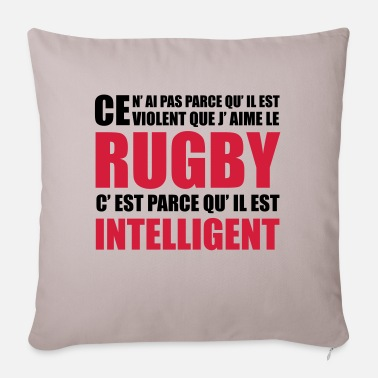 Rugby rugby - Housse de coussin