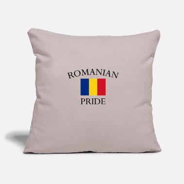 Romanian romanian-pride - Pillowcase 17,3'' x 17,3'' (45 x 45 cm)