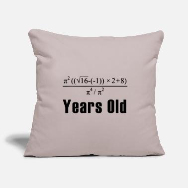 Birthday Math 18 years birthday gift - Pillowcase 17,3'' x 17,3'' (45 x 45 cm)