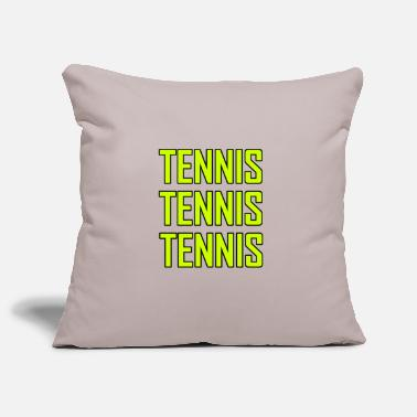 Tennis Tennis tennis tennis - Pillowcase 17,3'' x 17,3'' (45 x 45 cm)