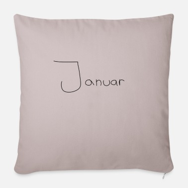 January January - Pillowcase 17,3'' x 17,3'' (45 x 45 cm)
